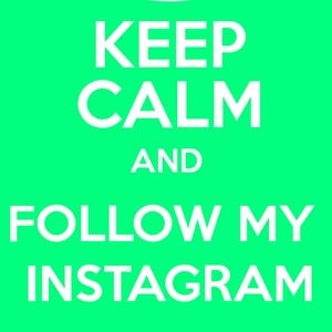 Let's follow each other!